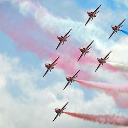 Picture Of Red Arrows to appear at the Herne Bay Air Show 2016