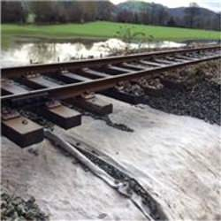 Picture Of Conwy Valley Line reopens after flood damage repairs
